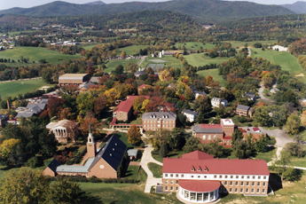 Hollins University Aerial View