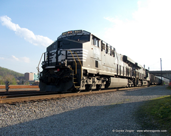 Norfolk Southern in Roanoke